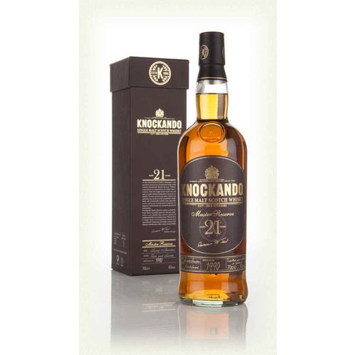 Knockando 21 Year Old Master Reserve Single Malt Whisky 700ml