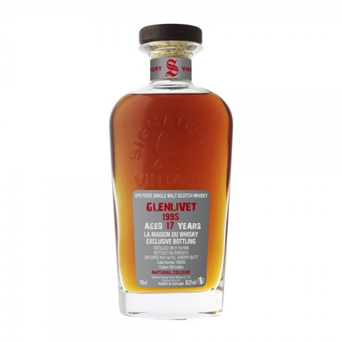 Glenlivet 17yo 1995 Single Malt Scotch Whisky 700ml