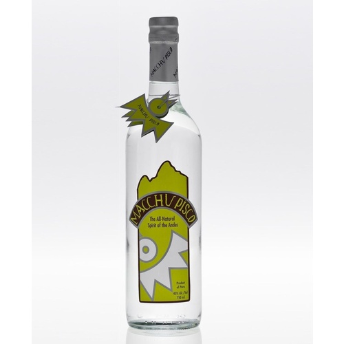 Macchu Pisco Spirit of The Andes - Peruvian Pisco 700ml