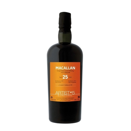 Macallan 25yo 1989 Single Malt Scotch Whisky by LMDW 700ml