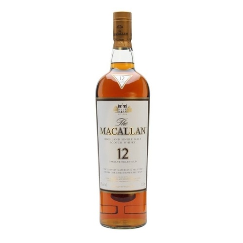 The Macallan 12yo Sherry Oak Single Malt Whisky 350ml