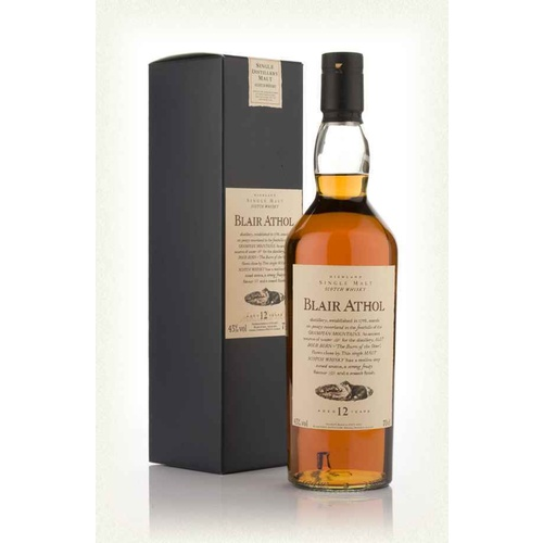 Flora & Fauna Blair Athol 12yo Single Malt Whisky 700ml