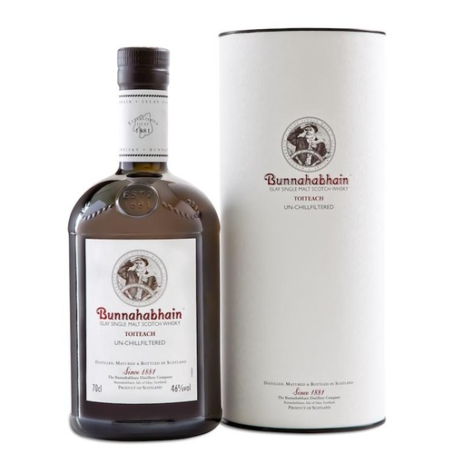 Bunnahabhain Toiteach Single Malt Scotch Whisky  700ml