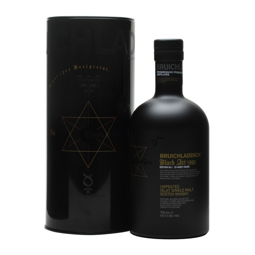 Bruichladdich Black Art 04 23yo 1990 Single Malt Scotch Whisky 700ml