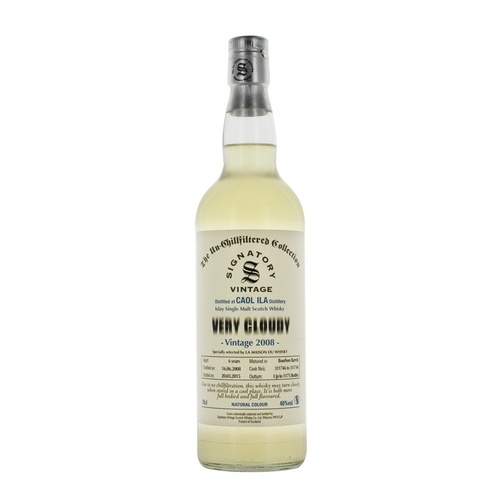 Caol Ila 7yo 2008 Very Cloudy SIngle Malt Scotch Whisky 700ml