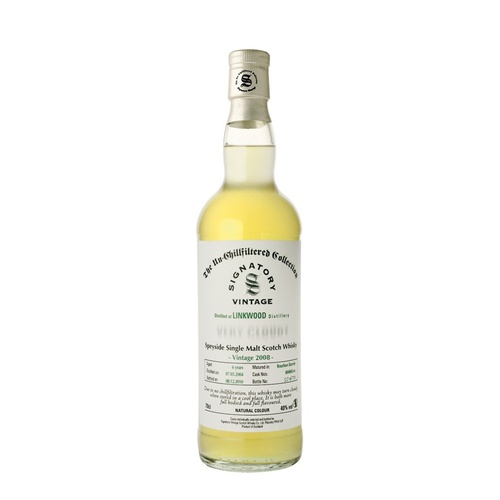 Linkwood 7yo 2008 Very Cloudy SIngle Malt Scotch Whisky 700ml