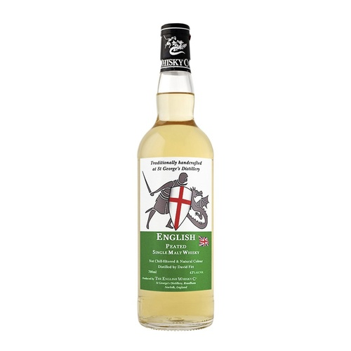 The English Whisky Co Peated Single Malt Whisky 700ml