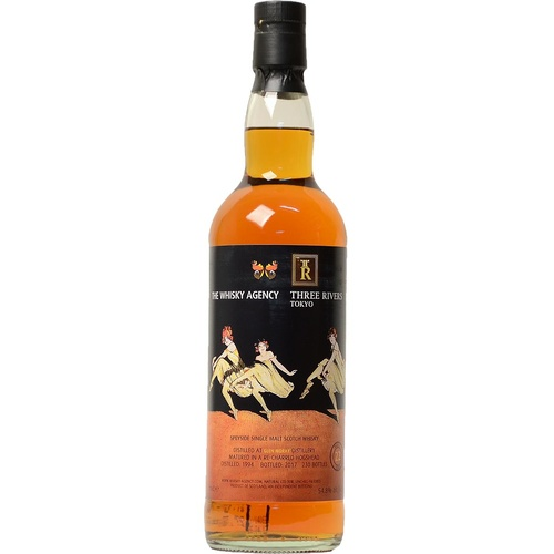Glen Moray 22yo 1994 Single Malt Scotch Whisky 700ml (The Whisky Agency / 3 Rivers)