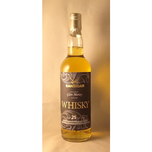 Glen Moray  25yo 1991 Single Malt Scotch Whisky 700ml (Sansibar)