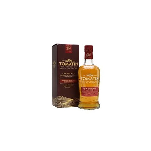 Tomatin Cask Strength Single Malt Scotch Whisky 700ml