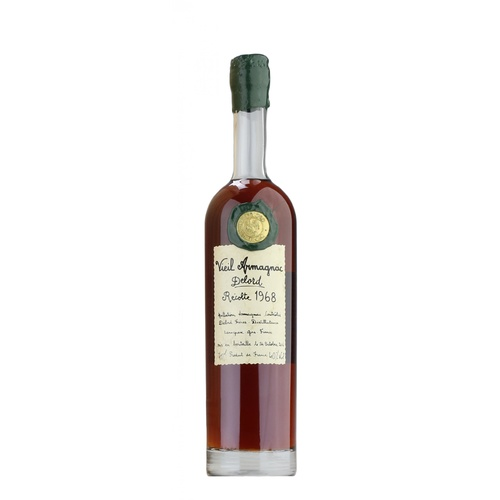 Delord Bas Armagnac 1968 from France 700ml
