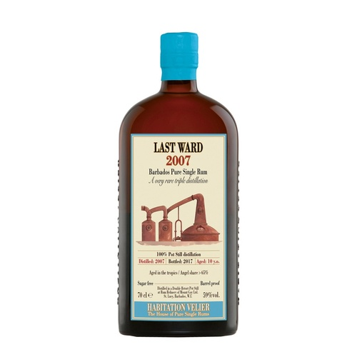 Last Ward (Mount Gay) 2007 Single Rum 700ml Habitation Velier