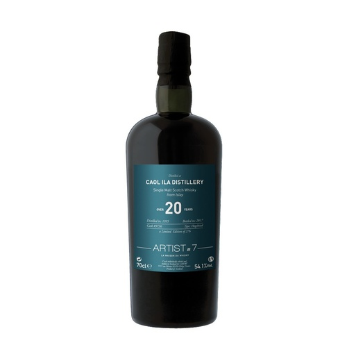 Caol Ila Over 20yo 1995 Single Malt Scotch Whisky 700ml - Artist #7