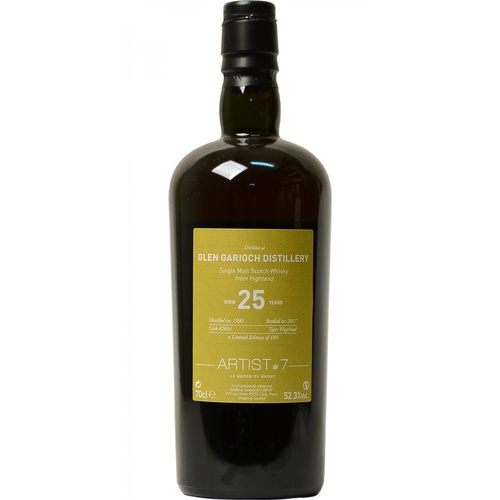 Glen Garioch Artist #7 25yo Single Malt Whisky
