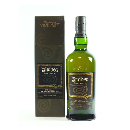 Ardbeg Corryvreckan Cask Strength Single Malt Scotch Whisky (700ml)