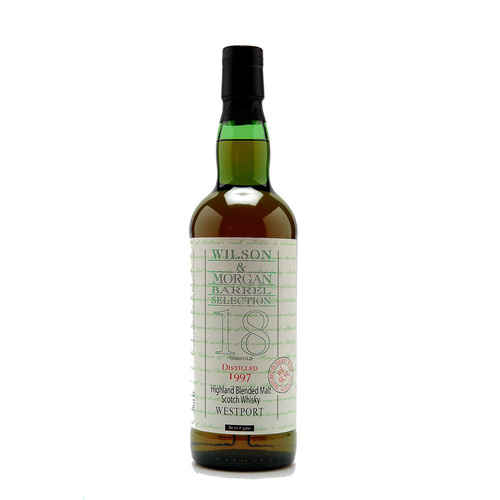Westport 18yo 1997 Wilson and Morgan Sherry Wood Blended Malt Scotch Whisky 700ml