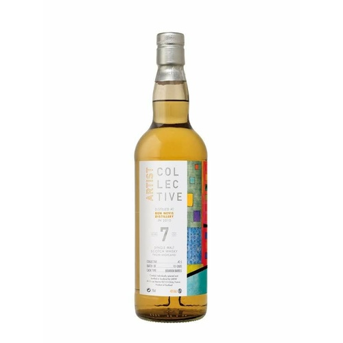 Ben Nevis 7yo Artist Collective Single Malt Scotch Whisky 700ml