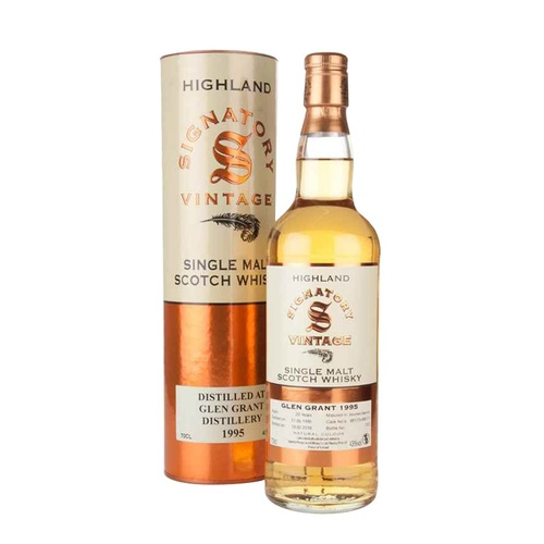 Glen Grant 20yo 1995 Single Malt Scotch Whisky 700ml