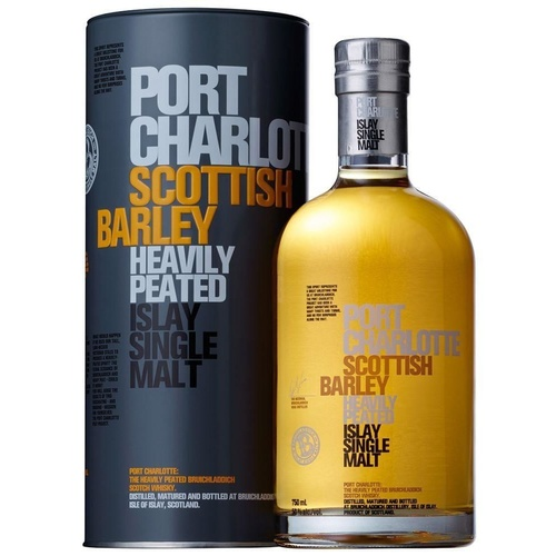 Bruichladdich Port Charlotte Scottish Barley Single Malt Whisky 50ml Sample
