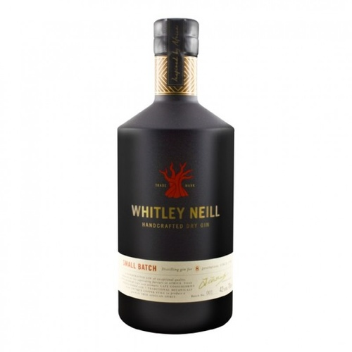 Whitley Neill Small Batch South African Dry Gin 700ml