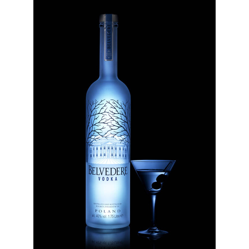 Belvedere vodka light up luminous for Light cocktails with vodka