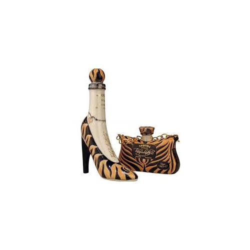 Teky Lady Anejo Tequila - Tiger Hi Heel and Purse