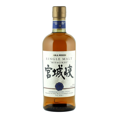 Nikka Miyagikyo 10yo Single Malt Japanese Whisky 700ml