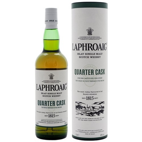 Laphroaig Quarter Cask Single Malt Scotch Whisky 750ml