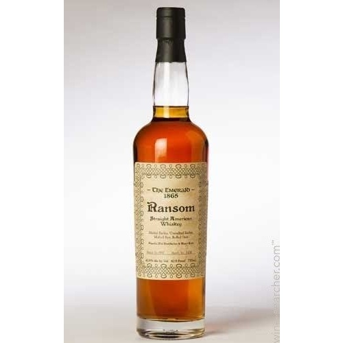 The Emerald 1865 Ransom American Whisky 750ml