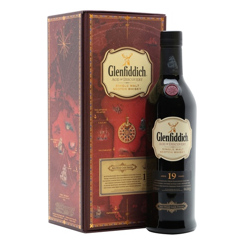 Glenfiddich age of Discovery 19yo Red Wine Finish - 700ml