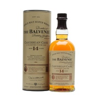 Balvenie 14yo Caribbean Cask Single Malt Scotch Whisky 700ml